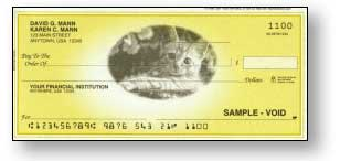 Your Favorite Pet's Photo on Union Made Checks