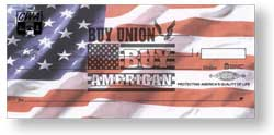 American Flag Personal Pocket Checks