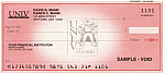 University of Nevada Las Vegas Personal Pocket Checks