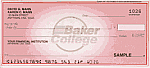 Baker College Personal Pocket Checks