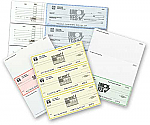 Imprinted Deposit Tickets for Laser-Inkjet and Business Checks